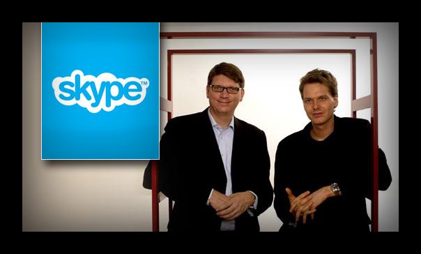 Картинка Создатели Skype