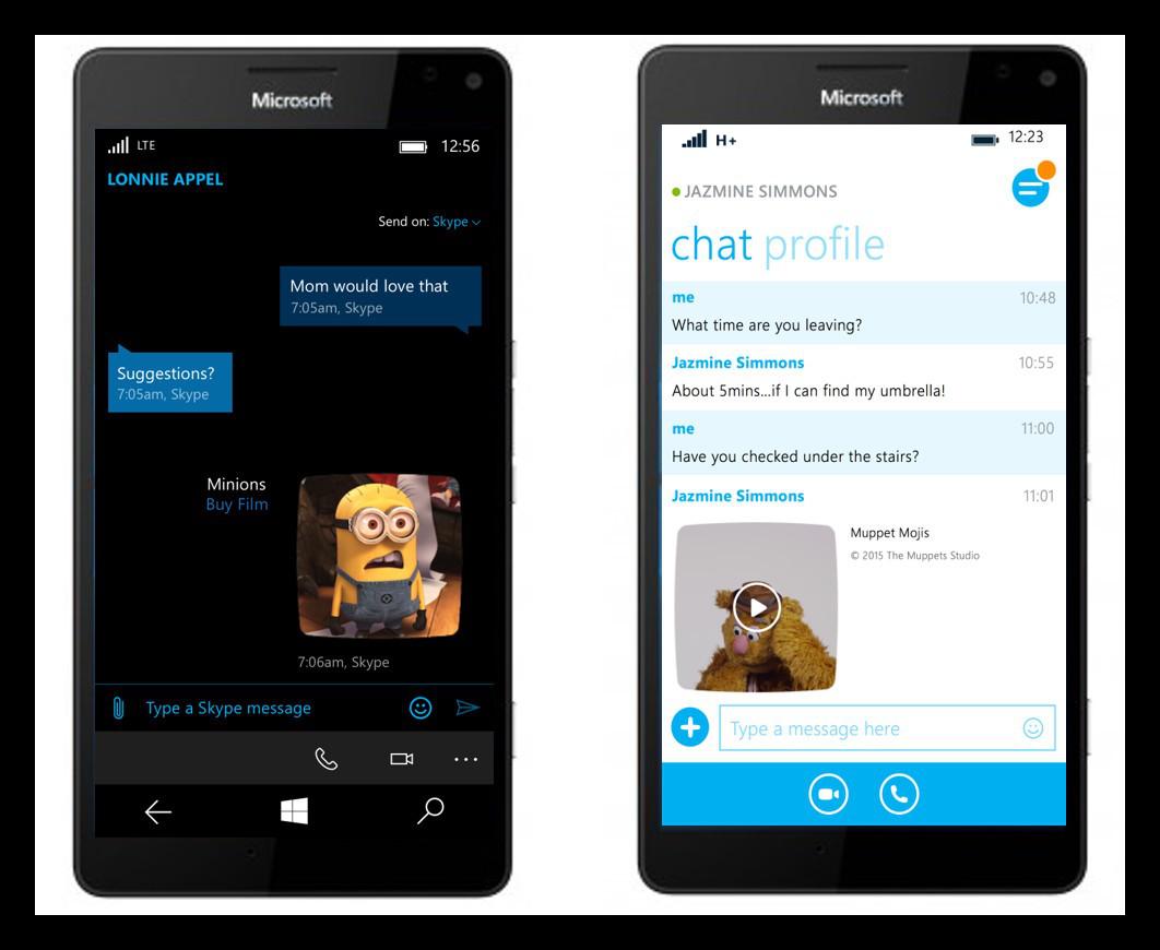 Скачать приложение skype для windows phone из microsoft store.