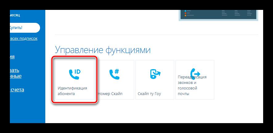 Идентификация абонента Скайп