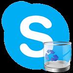 Как удалить Skype