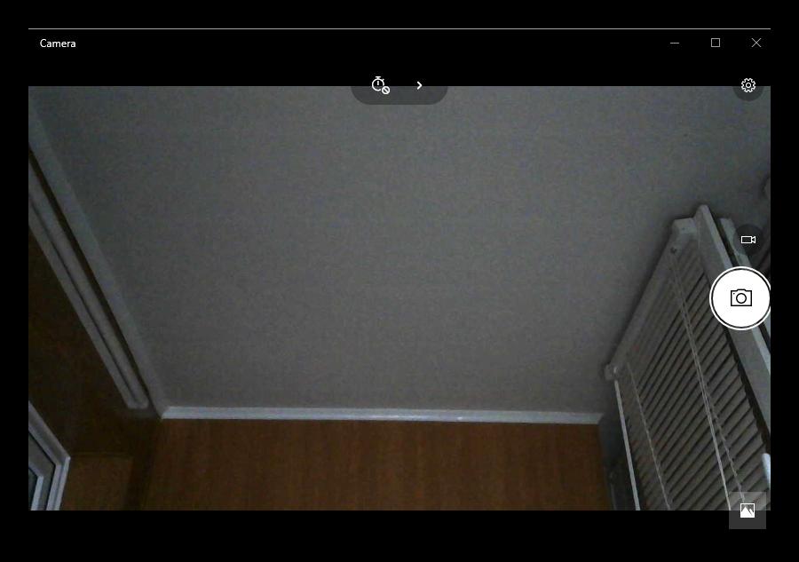 Приложение Камера в Windows