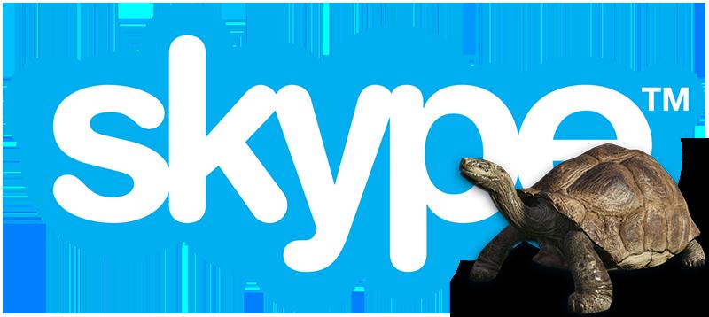 Тормозит Скайп
