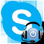 Как включить и выключить микрофон в Skype