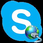 Skype не подключается к сети